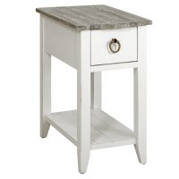 """14"""" Boardwalk Top With White Base 1 Drawer"""
