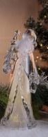 """12"""" LED Santa and Big Tree Figurine"""