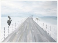 "50"" x 60"" Pier 2 Framed Canvas"