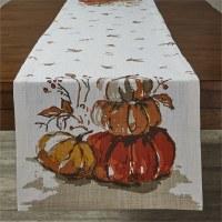 "72"" Harvest Pumpkin Runner"