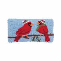 """12"""" x 24"""" Chrismtas Cardinals Pillow"""