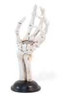 """8"""" Skeleton Hand Taper Candle Holder"""