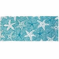 1.9' x 4.6' Marine Starfish Rug