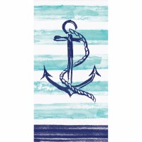 "8"" x 5"" Anchor Guest Towel"