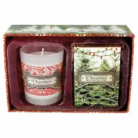 Set of Tannenbaum Candle and Soap