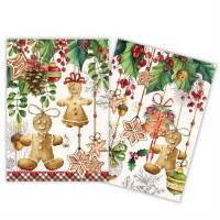 Set of 2 Holiday Treats Kitchen Towel