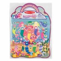 "8.5"" x 11.5"" Mermaid Puffy Sticker Set"