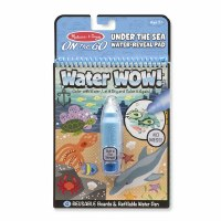 "6"" x 10"" Under Sea Water Wow Coloring Set"
