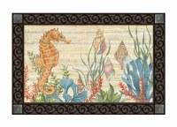 """30"""" x 18"""" Seahorse Doormat"""