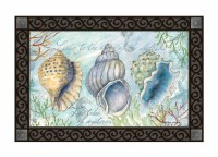"30"" x 18"" Collecting Shells Doormat"