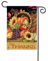 "18"" x 13"" Mini Harvest Blessings Garden Flag"