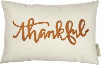 "10"" x 15"" Thankful Pillow"