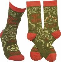 Just Be Happy Socks