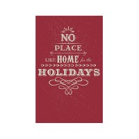 "8"" x 5"" No Place Like Home Guest Towel"