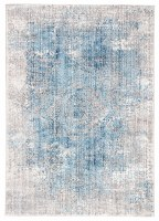 5' x 8' Blue and Gray Ostara 9