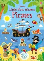 Little Firsts Sticker Pirates Book