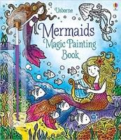 Mermaids Magic Painting Book