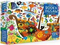 Under The Sea Book and Jigsaw Puzzle