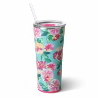 22 Oz Island Bloom Tumbler Swig