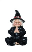 """5.75"""" Yoga Witch With Praying Hands"""