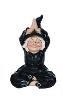 "5.75"" Yoga Witch With Hands Up"