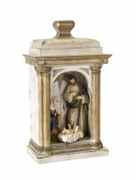 """15"""" Polyresin Holy Family In Arch"""