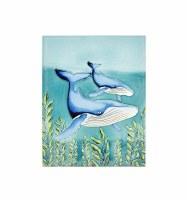 XL Humpback Whale Tile