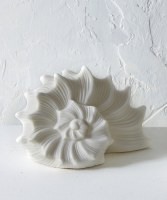 """5"""" LED White Ceramic Shell"""