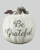 "8"" Be Grateful Pumpkin"