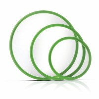 Set of 3 Green EZ Seal Lids