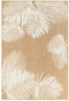 3.3' x 4.11' Sand Palm Rug