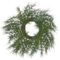 "4.5"" Green Ming Pine Candle Ring"