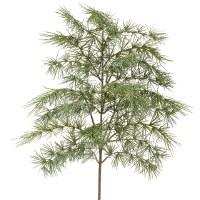 """27"""" Green Ming Pine Spray"""