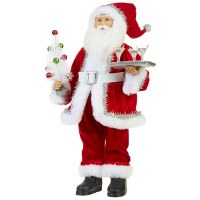 """18"""" Santa With Martinis"""