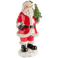 "12"" Santa With Christmas Tree"