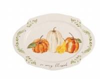 "13"" Oval Blessed Platter"