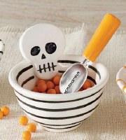 "4"" Skull Dish Wish Scoop"