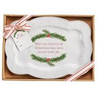 "8"" x 11"" Miracle Christmas Platter"