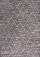 5.3' x 7.7' Gray Boho Landscape Rug