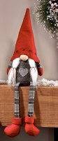 "15"" Girl Gnome With Red Hat"