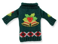 Bells Sweater Bottle Cover