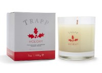 7 oz Holiday Glass Candle