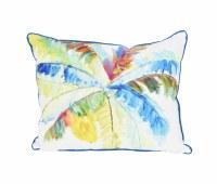 """16"""" x 20"""" Multicolor Big Palm Pillow"""