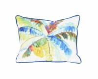 """11"""" x 14"""" Multicolor Big Palm Pillow"""