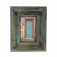 """4"""" x 6"""" Verdigris Washed Wooden Frame"""