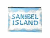"""""""Sanibel Island"""" Zipper Bag"""