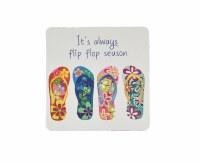 Always Flip Flop Season Coaster