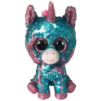 "6"" Flippable Celeste Aqua Unicorn"