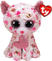 "6"" Flippable Cupid The Cat"