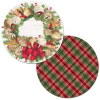 """13.5"""" Round Christmas Sea Placemat"""